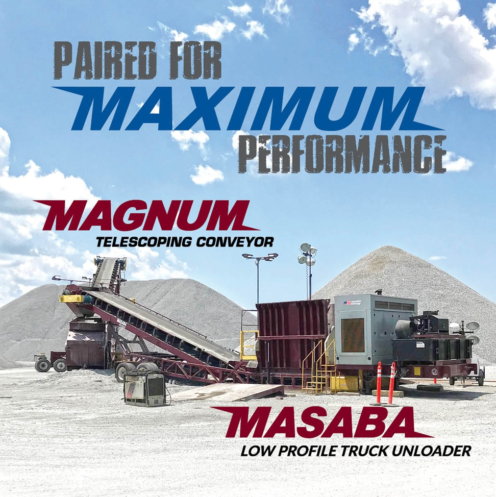Masaba Low Profile Truck Unloader